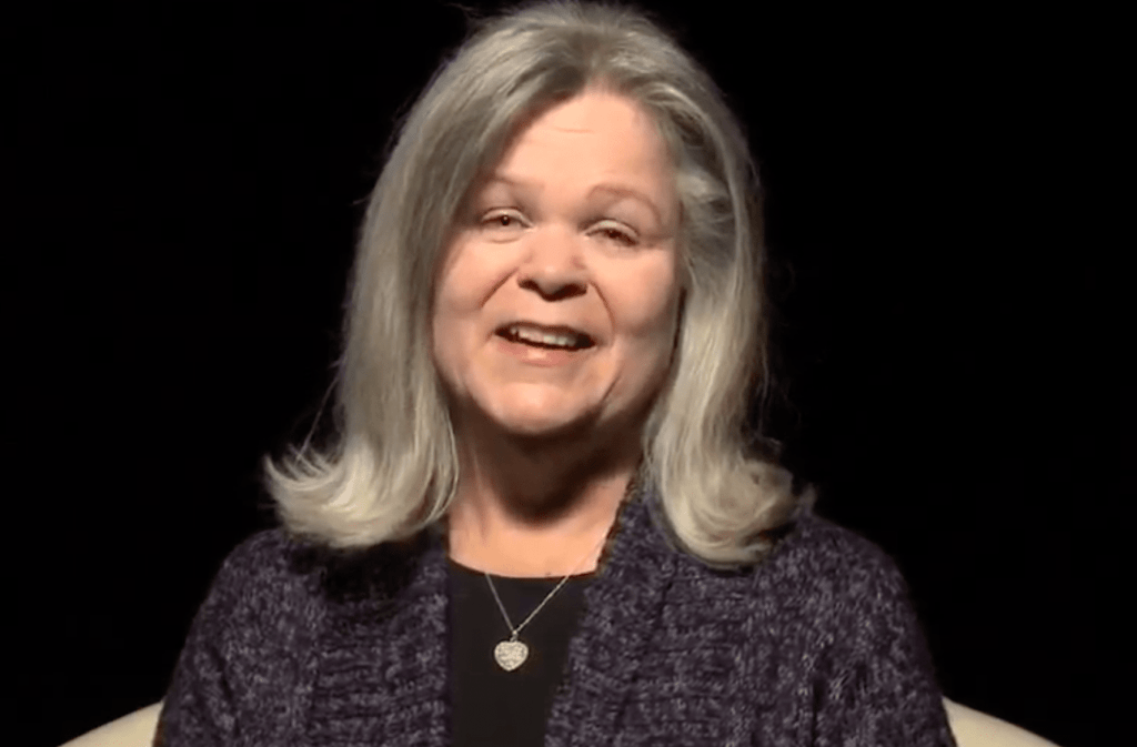 Barb: another life changed by Jesus Christ. Her video life story appears in The Well, a gospel-centered website housing video life stories of people transformed through receiving Jesus Christ into their life