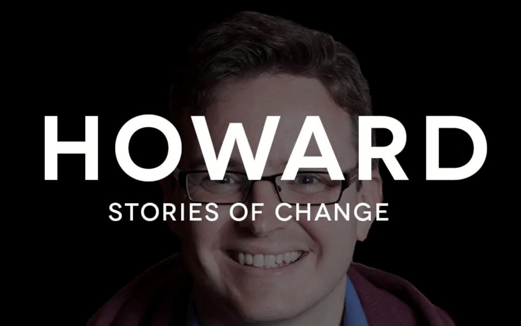 Howard: another life changed by Jesus Christ. His video life story appears in The Well, a gospel-centered website housing video life stories of people transformed through receiving Jesus Christ into their life