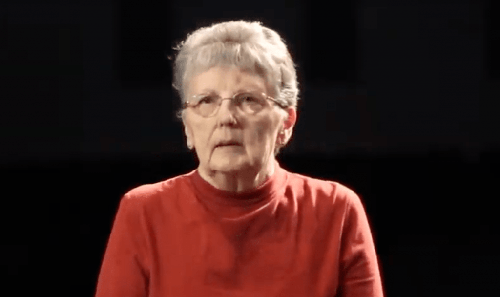 Dixie: another life changed by Jesus Christ. Her video life story appears in The Well, a gospel-centered website housing video life stories of people transformed through receiving Jesus Christ into their life