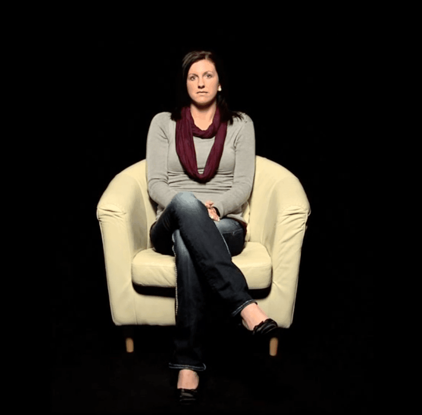 Jamie: another life changed by Jesus Christ. Her video life story appears in The Well, a gospel-centered website housing video life stories of people transformed through receiving Jesus Christ into their life
