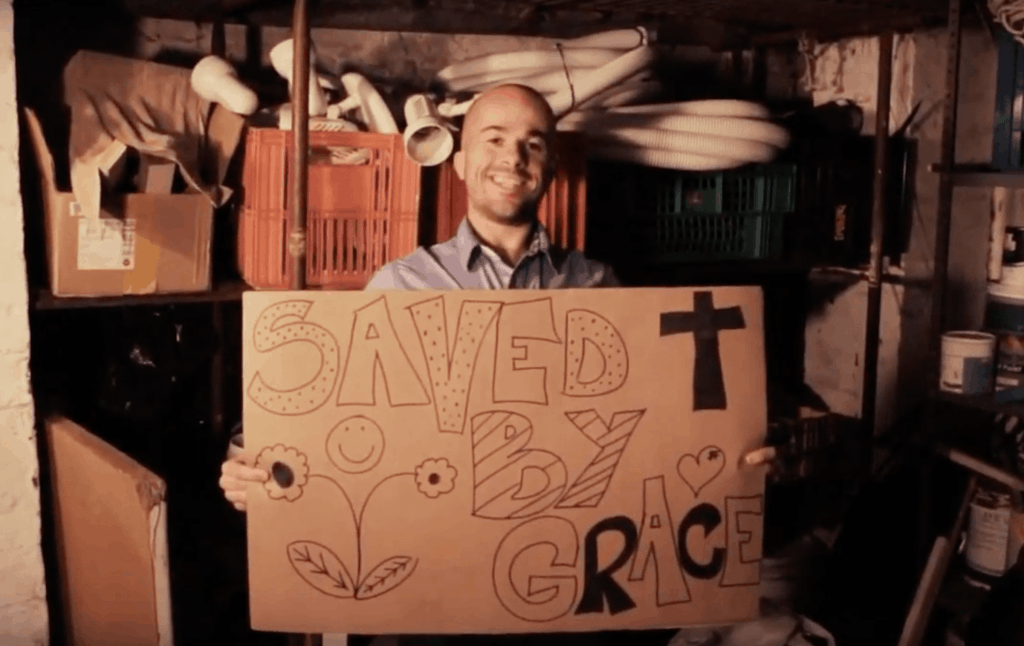 Gordon: another life changed by Jesus Christ. His video life story appears in The Well, a gospel-centered website housing video life stories of people transformed through receiving Jesus Christ into their life