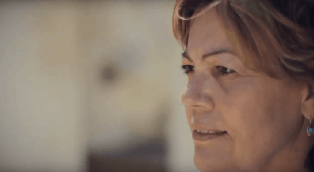 Marilyn: another life changed by Jesus Christ. Her video life story appears in The Well, a gospel-centered website housing video life stories of people transformed through receiving Jesus Christ into their life