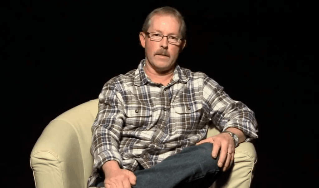 Dave: another life changed by Jesus Christ. His video life story appears in The Well, a gospel-centered website housing video testimonies of people transformed through receiving Jesus Christ into their life