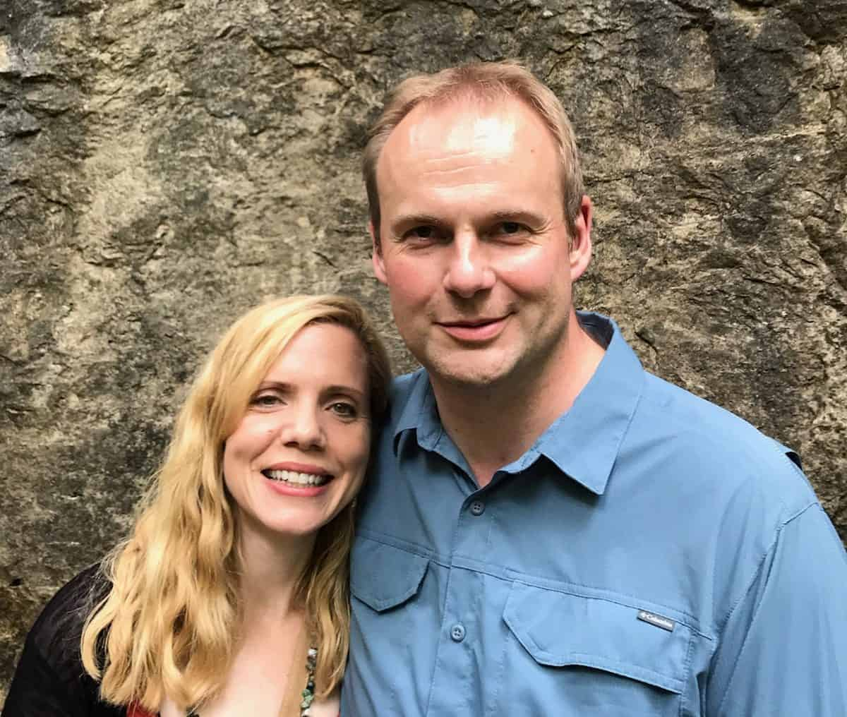 Gemma and Fredrik Sandberg. Founders of The Well, a gospel-centered website housing video life stories of people transformed through receiving Jesus Christ into their life